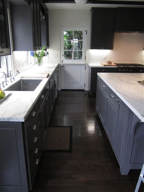 Grey Wood Floors Kitchen Image Result For Kitchen Gray Floor Walnut Cabinets Kitchen Colors For Remodel