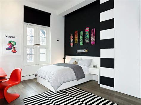 wandfarbe streifen wandfarbe ideen mit elegnaten streifen in schwarz und wei 223