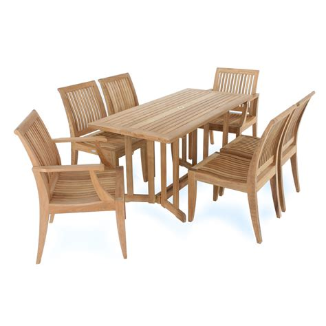Teak Garden Dining Sets Retail 5890 00 Save 15