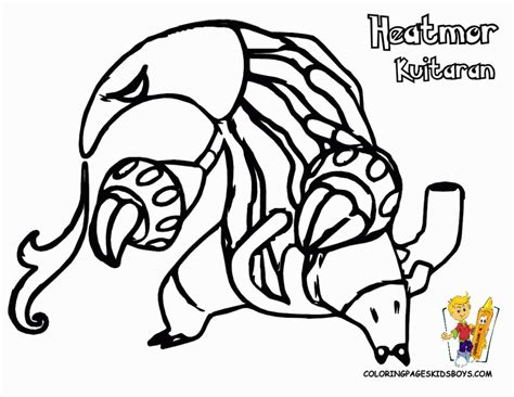pokemon coloring pages genesect genesect coloring pages coloring home