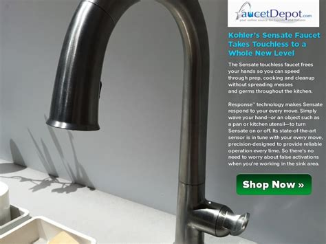 kohler touch kitchen faucet kohler touchless faucet troubleshooting