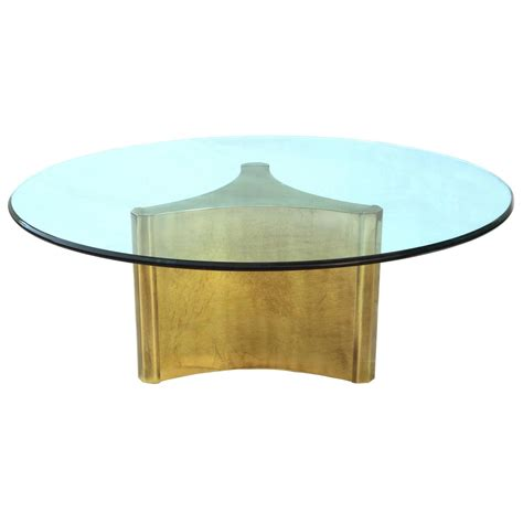 Mastercraft Pedestal Coffee Sofa Cocktail Table With Glass Cocktail Coffee Tables