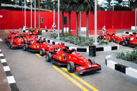 Ferrari Land In Dubai by Ferrari World Skidubai
