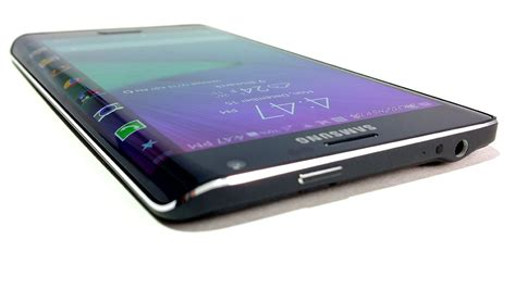 Samsung Edge samsung galaxy note edge review side screen side eye