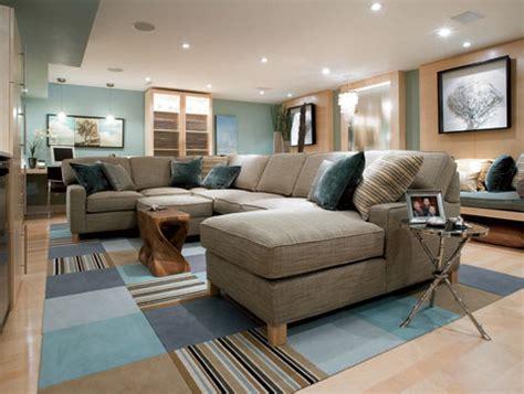 basement family room colors a arte de misturar cores marrom e azul papo de design