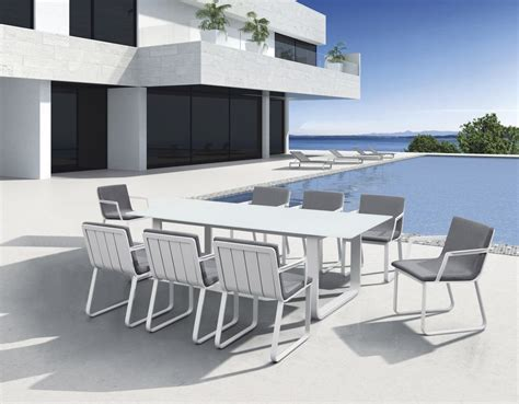 Wonderful White Outdoor Furniture   All Home Decorations