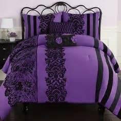 black and purple comforter 1000 ideas about purple black bedroom on