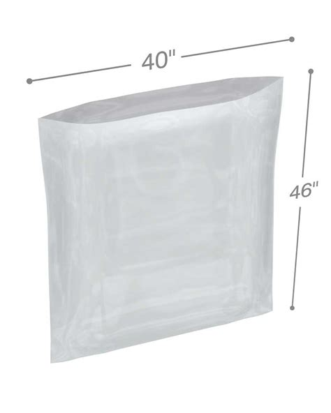 Polybag Polibag 40 X 40 40 quot x 46 quot mil poly bags