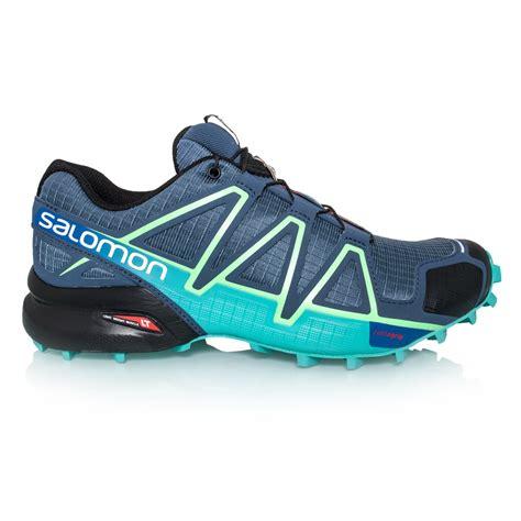 Ardiles Marendaz Green Blue Running Shoes salomon speedcross 4 womens trail running shoes slate blue fresh green sportitude