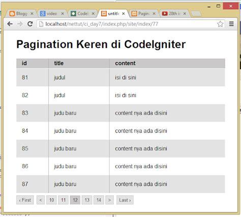 membuat link halaman di codeigniter seo and codeigniter