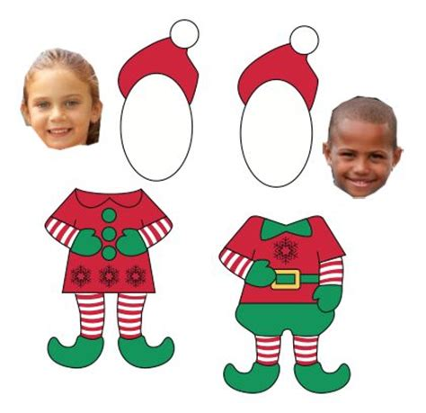 elf yourself template printable elves elf magic and writing on pinterest