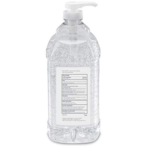 purell advanced hand sanitizer refreshing gel  liter hand sanitizer table top pump bottles