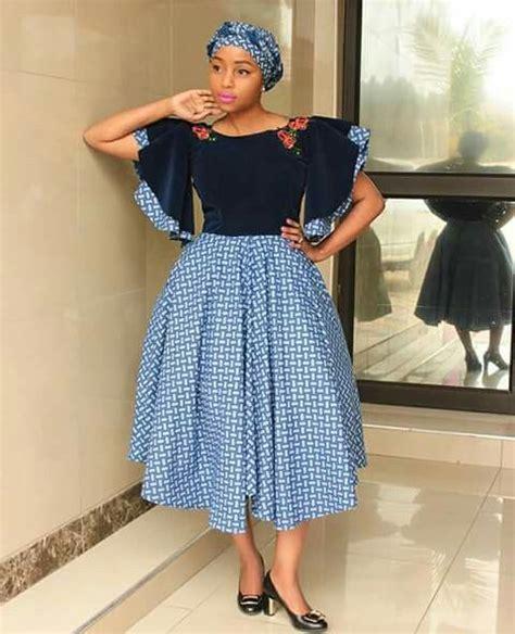 modern shweshwe dresses sotho haute fashion africa shweshwe dresses 2018 new trends hairstyles 19 african