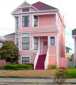 Pictures Of Houses would you live in a pink house