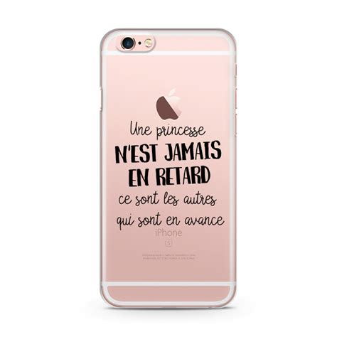 coque iphone 6 et 6s princesse r etard