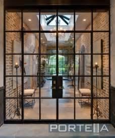 Steel Glass Door Portella Custom Steel Doors And Windows