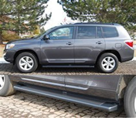 toyota highlander running boards at andy's auto sport
