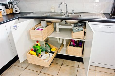 kitchen under sink storage under kitchen sink storage
