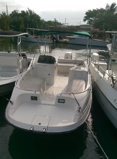 cobia boat pictures florida keys fishing boat rentals 23 cobia deck boat