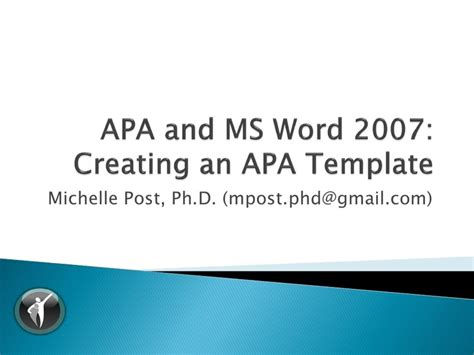 office 2007 apa template creating a word 2007 apa template by reach your potential
