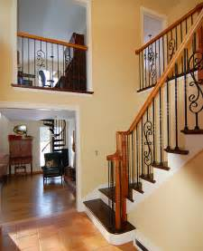 another portfolio update wrought iron baluster staircase east coast stairs company inc