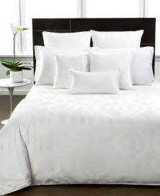 the hotel collection hotel collection bedding modern hexagon white collection