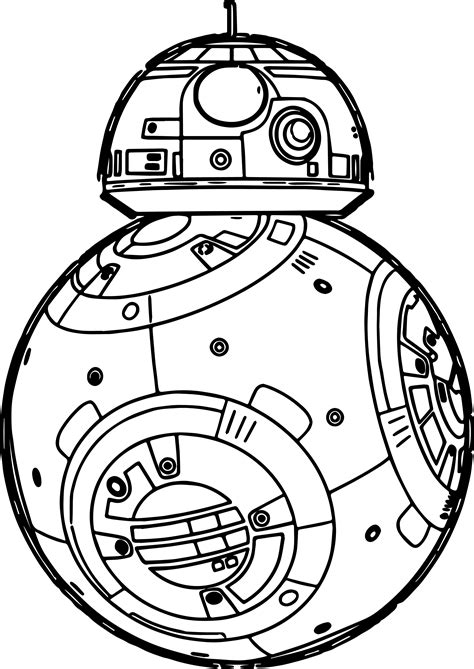 lego bb 8 coloring page star wars the force awakens coloring pages wecoloringpage