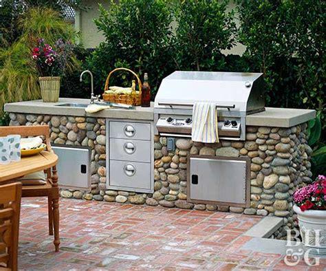 outdoor kitchen design ideas better homes gardens