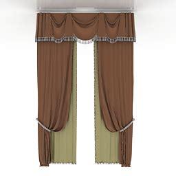 archive 3d curtains quot curtains quot collection 3d models curtain 4 3d model