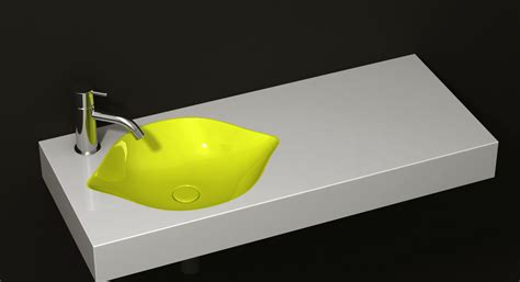 cool sinks for small bathrooms cool fruit inspired bathroom sinks lemon by cenk kara