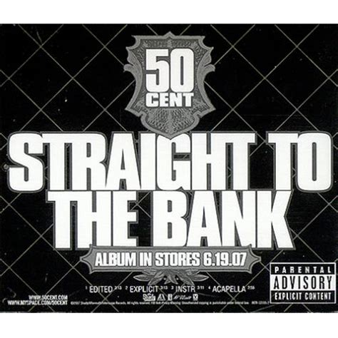 50 cent to the bank 50 cent to the bank amusement park us promo cd