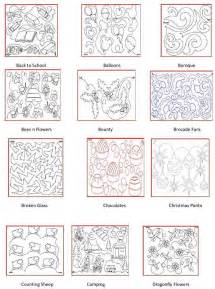 longarm quilting pattern book arm ideas