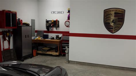 porsche garage decor garage decorations memorabilia rennlist porsche