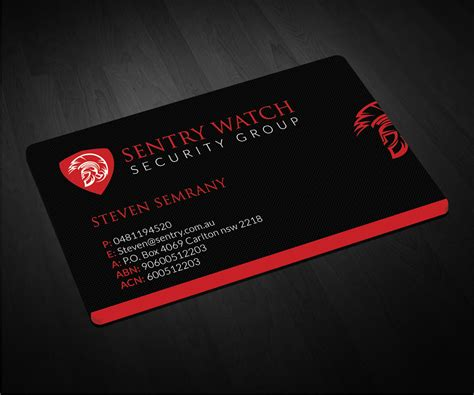 Security Business Cards Templates by Security Business Cards Gallery Business Card Template
