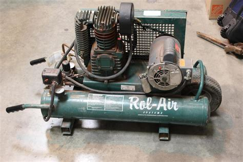 rol air system 5715k17 air compressor property room