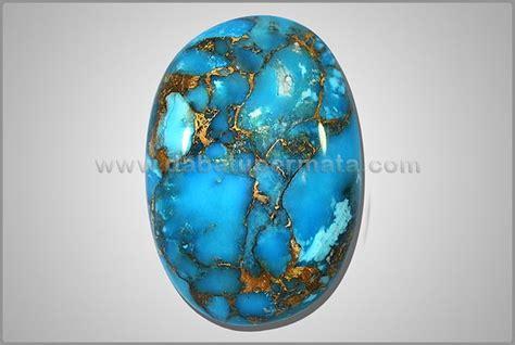 Pirus Royal Blue batu mulia antik pirus biru urat emas porselen padat ps