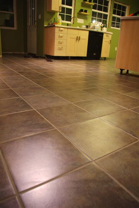 Installing Tile Linoleum Floor by How To Install Carpet Tiles Vinyl Floor Thefloors Co