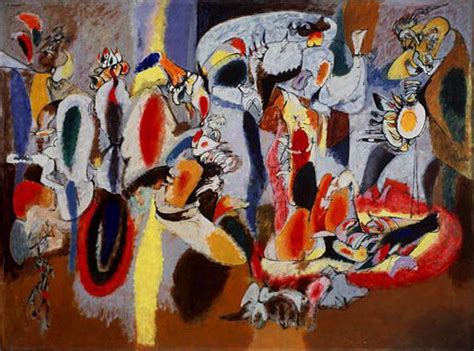 picasso expressionism paintings arshile gorky of abstract expressionism the