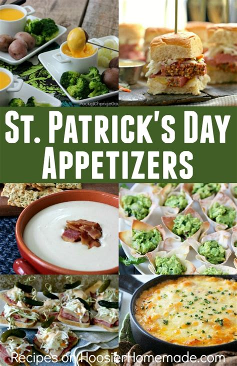 st patrick s day appetizers hoosier homemade