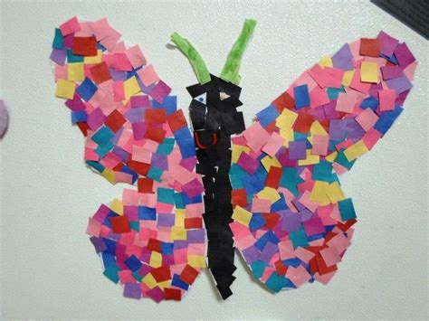 Preschool Crafts For Easy Butterfly by Butterfly Projects For Preschoolers Search