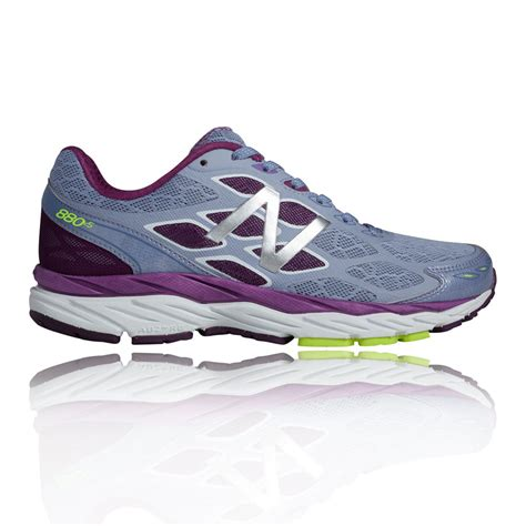 purple womens running shoes shoes new balance w880v5 womens running shoes yellow