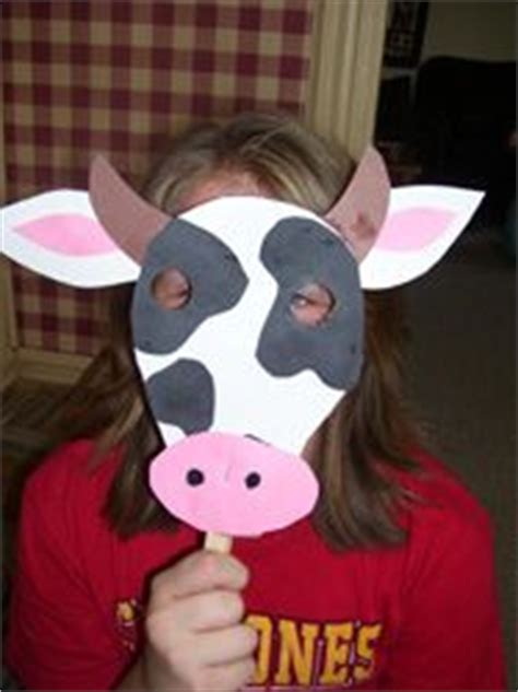 cow mask cow appreciation day and cow on pinterest