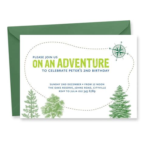 free printable birthday invitations nz adventure birthday invitation tumbleweed press