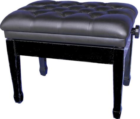 adjustable leather concert piano stool by tozer musical