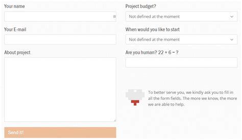 form design best practices 2015 5 exles of web form design best practices