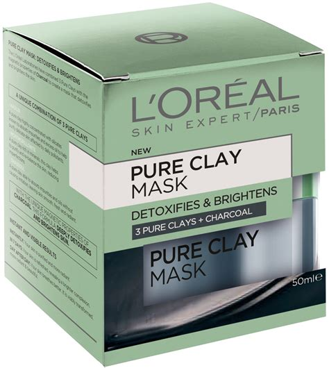 Loreal Charcoal Mask Detox Review by L Or 233 Al Clay Detoxifying Brightening