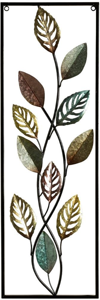 gold leaf home decor metal wall art accent decor gold leaf home living room
