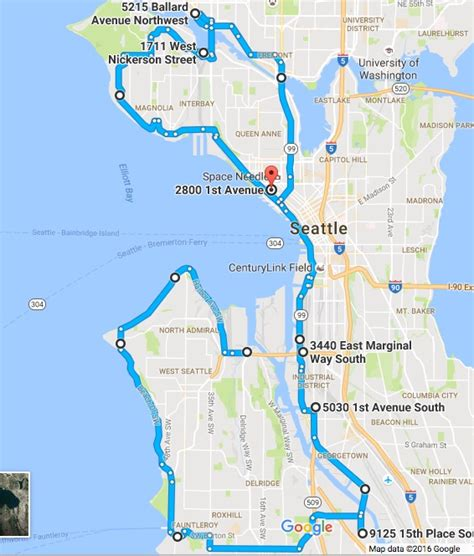 seattle map my ride west seattle labor day run motorcycle