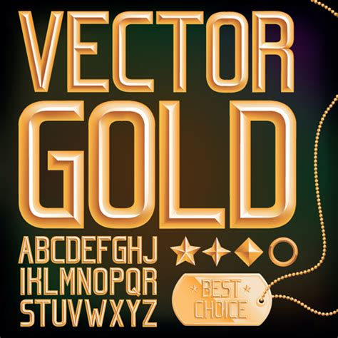 font design vector free download set of different alphabet elements design vector 05