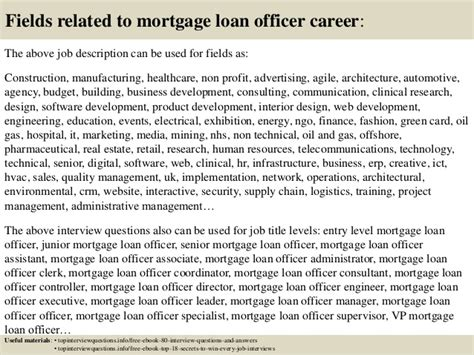 Thank You Letter Mortgage Loan Officer Top 10 Mortgage Loan Officer Questions And Answers